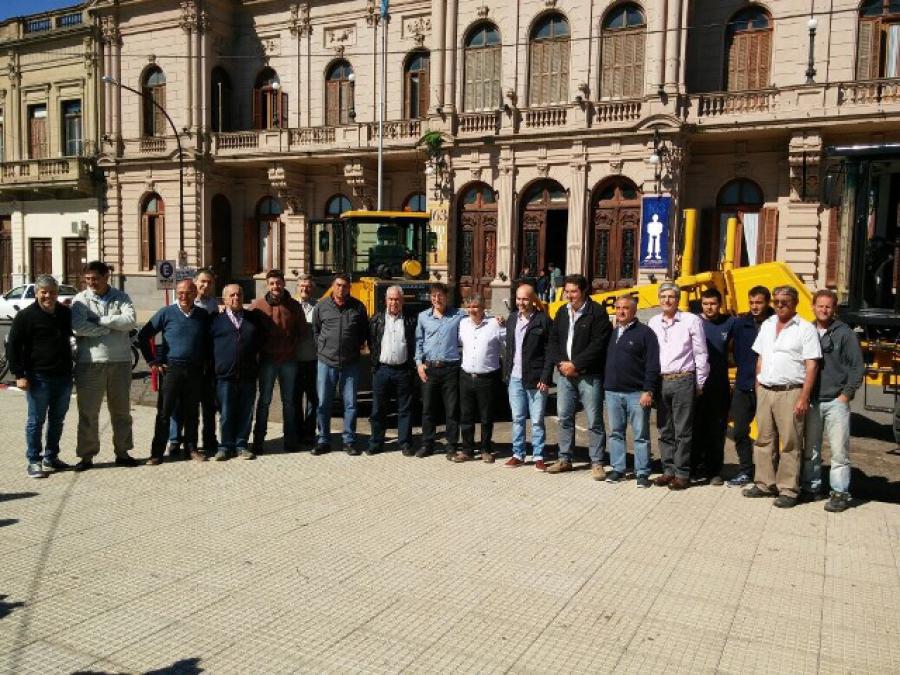 Taurus Máquinas aportó maquinaria a Municipalidad de Chivilcoy